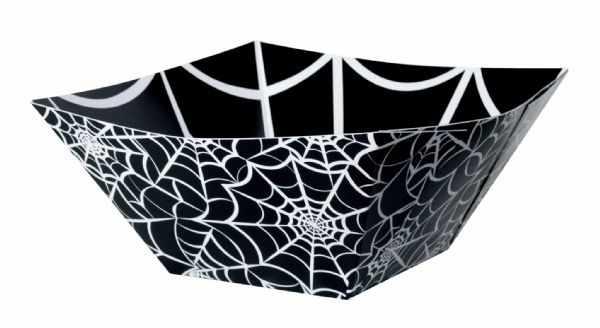 Spider Web Paper Square Bowl (1)